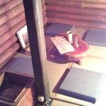 道しるべ - 一枚板の座卓(2階)