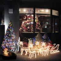 カントリークリスマス - クリスマスシーズンになるとイルミネーションがとっても綺麗です。