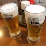 28840836 - お一人様一回限りのお得なセット500円+税の生ビール