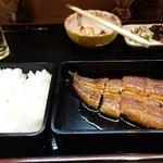 28841774 - うなぎ定食1,500円(税別)