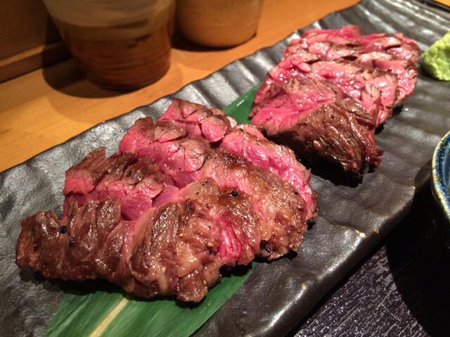 金舌 赤坂 - さがり炭火焼定食 1500円tax込