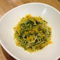 ギンザ タッポ - カラスミと菜の花のスパゲッティーニ