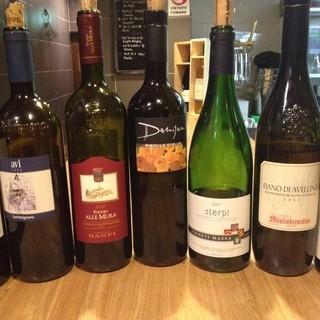北から南まで個性豊かなイタリアワインが100種以上!