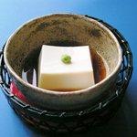 遊心亭まつばら - 胡麻豆腐