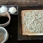 蕎麦切り こばやし - 辛味大根そば(2014.7.8)