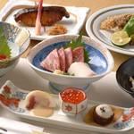 暫亭 いろり - コース料理一例