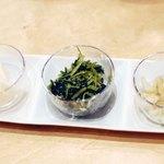 京漬物味わい処 西利 - 京のごはんセット の漬け物