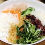 京漬物味わい処 西利 - 漬物丼
