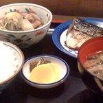割烹 松長 - 焼き魚定食です。
