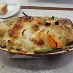 ビストロ ダイア - オマールエビと白身のクネル、蟹味噌ソース