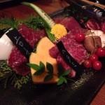 馬焼肉専門店 桜とmomiji 本店 - 盛り合わせ