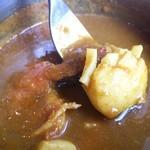 ジョイアルカレーサロン - 1日限定20食の、シーフードカレー