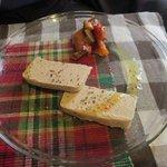 もと街びより - 鶏レバーのテリーヌ ラタトゥユ添え +¥100