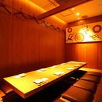 宮崎料理 万作 - 内観写真:8名様~12名様用個室