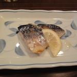 紅亭 - おまかせランチの焼き鯖