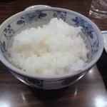 紅亭 - ご飯