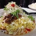 28857711 - 冷し担担麺+ご飯