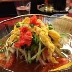中華料理 大栄飯店 - 冷麺+半チャンセット