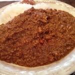 南蛮食堂 - やみつき本格キーマカレー(大盛り)