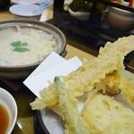 かにの華 - 雑炊膳1800円+税