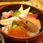 かにの華 - 海鮮丼ランチ1480円+税