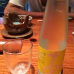 にきたつ庵 - ソーダ酒(日本酒シャンパンみたいな♡)