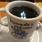 コメダ珈琲店 - コメダのホットコーヒーはカップが可愛い♥︎