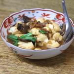 餃子荘 ムロ - 豆腐のオイスターソース煮  (2014/06)