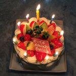 アリス洋菓子店 - 生クリーム(フルーツ)5号2,400円(税別)(2014年7月)