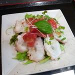 座いっく - 蛸とトマトのサラダ
