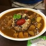 ぱんぷきん - ひよこ豆のカレーライス