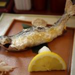 京風 しなの料理 きよみず - 鮎の塩焼き~☆