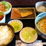 孫市 - そば定食