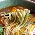 鬼そば - 半端ないとろみで蕎麦に絡むカレー!(2014,07/05)