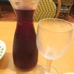 サイゼリヤ - 赤ワインのデカンタ250mlは¥200⁉︎