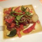 28877241 - トマトコンフィと熟成豚のハーブロースト