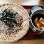 塚本みやげ店 - 山かけ蕎麦