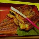 うどんの庄 住吉 - ウナギの蒲焼き