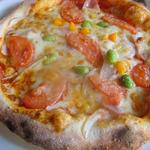 パニーノガーデン - 彩り野菜ピザ