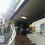 ミルミレ - 店へ上がる階段