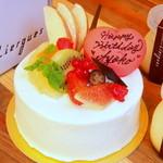 28878784 - バースデーケーキのガトーフレーズ
