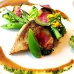 レストラン マキシミュー - 料理写真:ある日の魚料理