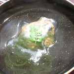 28879920 - 椀物 サザエのシンジョ 海藻麺