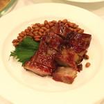 聘珍樓 - 聘珍三拼盆 (国産豚肩ロース肉の本格窯焼き叉焼)