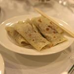 聘珍樓 - 琵琶片皮鴨 (本格窯焼き 琵琶型北京ダック)4枚食べたあと、もっと食べたい人はご自由に