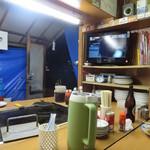 富士さん - 屋台なのにテレビあるんですよね~