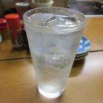 富士さん - 焼酎(黒霧・水割りで) 400円