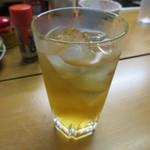 富士さん - 梅酒(五代梅酒焼酎造り・ロックで) 450円