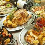 マヌエル・シュラスケリア - お肉料理や魚介料理が豊富です