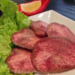 焼肉 喜笑 - 上塩タン¥1100